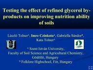 Testing the effect of refined glycerol by- products on improving ...