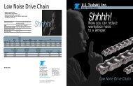 Low Noise Drive Chain - U.S. Tsubaki, Inc.