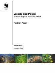 Weeds and Pests - wwf - Australia