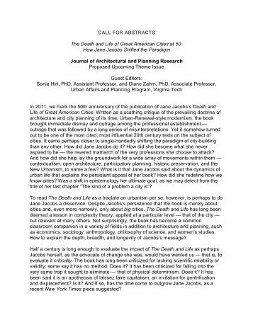 CALL FOR ABSTRACTS The Death and Life of Great ... - Homestead