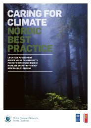 Caring for Climate nordiC Best PraCtiCe - Global Compact Nordic ...