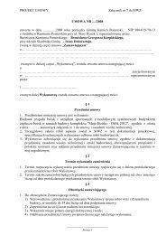 Załącznik Nr 7 do SIWZ - Projekt umowy