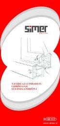 navodila za uporabo in vzdrzevanje.pdf - Simer d.o.o.