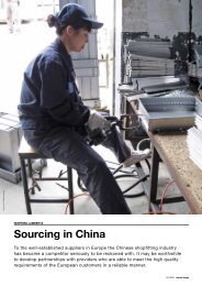 Sourcing in China - ISO International Shopfitting Organisation