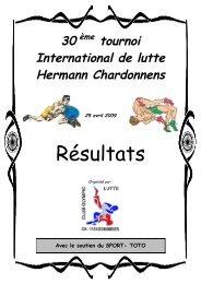 Résultats - Sporting-Club des Lutteurs - Martigny
