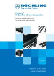 Carbon fibre reinforced composites - Röchling Engineering Plastics