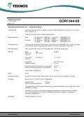 GORI 644-00 - Teknos - Page 2