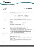 GORI 644-00 - Teknos - Page 3