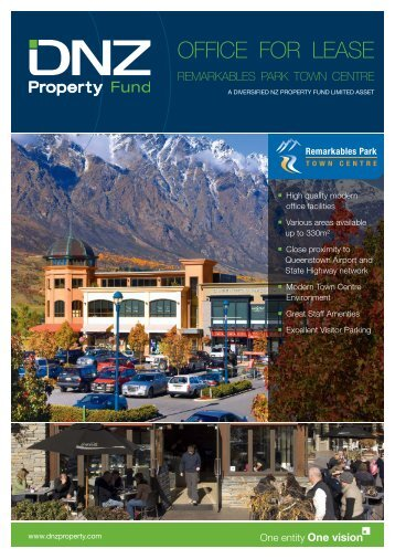 to download flyer - DNZ Property Fund