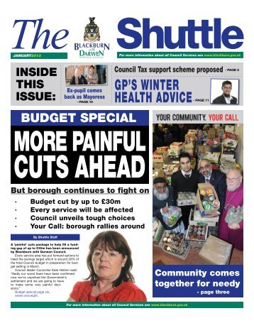 January 2013 - Blackburn with Darwen Borough Council