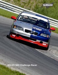 Franke Volvo Mercedes race and Police cars history rev 2012 a.cdr
