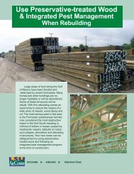 Use Preservative-treated Wood - Louisiana Forest Products ...