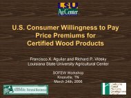 U.S. Consumer Willingness to Pay Price Premiums for ...