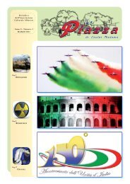 Anno 8 - Numero 3 MARZO 2011 Periodico dell ... - La Piazza