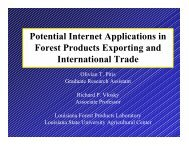 Potential Internet Applications in Forest Products Exporting and ...
