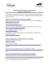 School Suspension Resource Document - Center for Child & Family ...