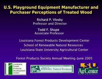 U.S. Playground Equipment Manufacturer and Purchaser ...