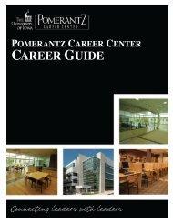 Careers Uiowa - Pomerantz Career Center
