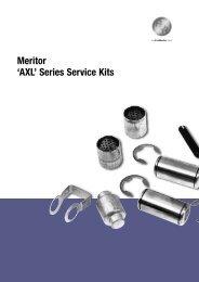 Meritor 'AXL' Series Service Kits