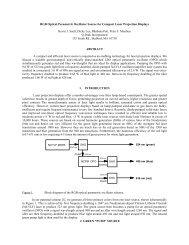 Aerosense 1999: RGB Optical Parametric Oscillator ... - Q-Peak, Inc.