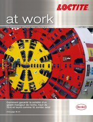 Le magazine officiel des clients Loctite, No.1