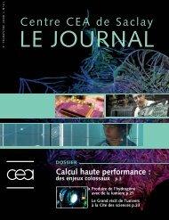 Journal de Saclay n°41 - CEA Saclay
