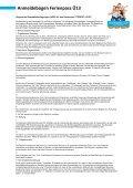 Anmeldebogen zum Ferienpass Ü 13 - Gemeinde Jade - Page 6