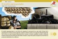 El modelo agroexportador - Manosanta