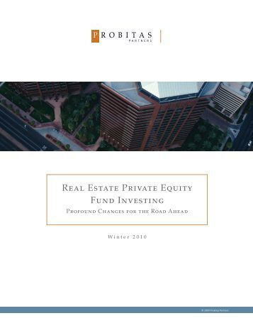 real estate private equity thesis Private equity: a selection of case studies hand with private equity firms to create relevant and investment thesis with respect to upsides.