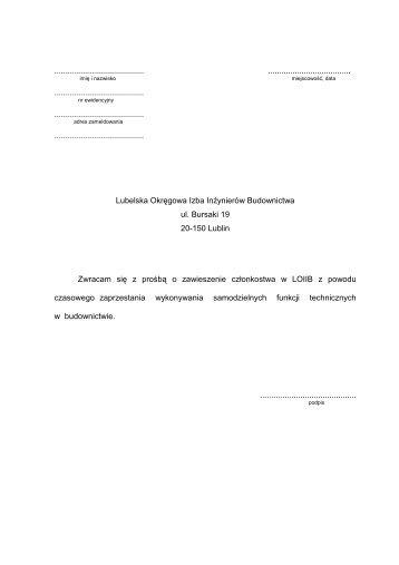 Adobe Reader (.pdf) - Lubelska Okręgowa Izba Inżynierów ...
