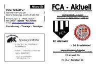 FCA-Aktuell Nr. 3 - FC-Alsbach