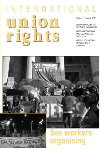International Union Rights - Prostitution Law Reform