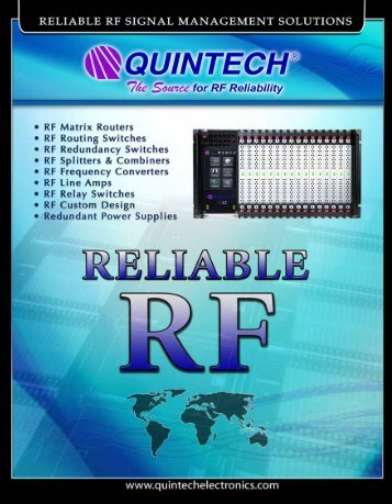 Download Catalog - Quintech Electronics