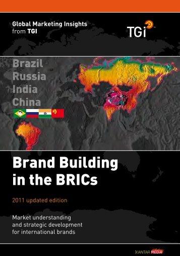 Brand Building in the BRICs - Kantar Media
