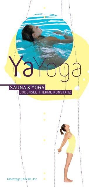 Sauna Yoga Bodensee Therme Konstanz