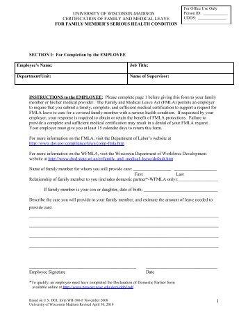Fmla Form. Osha 300 Form · Fmla Form Employee Form | Download Free ...