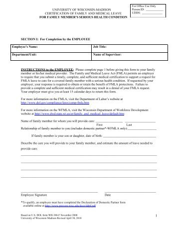Fmla Request Forms
