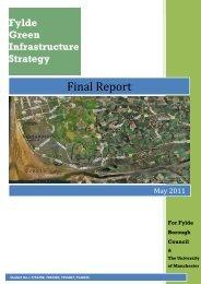 Green Infrastructure Strategy - Main Report - Fylde Borough Council