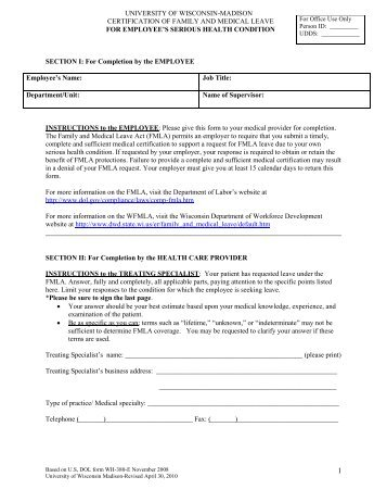 Fmla And Ada Changesfmla Form. Leave Request Form Sample 12+