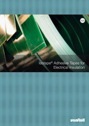 Download Von Roll's adhesive tape catalogue - Trafomo