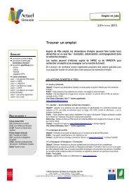 3.01 Trouver un emploi - février 2013.pdf - (CRIJ) Limousin