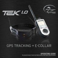 Gps Tracking E-Collar