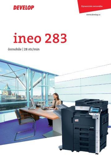ineo 283 - Verso