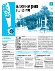 La sede más joven deL FestivaL - Festival Internacional del Nuevo ...