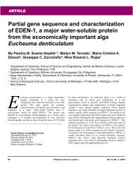 Partial gene sequence and characterization of EDEN-1, a major ...