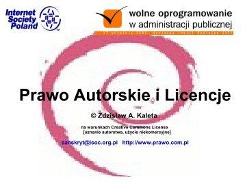 Prawo Autorskie i Licencje