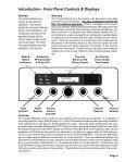 Cinema Referance Manual - Audio Design Associates - Page 6