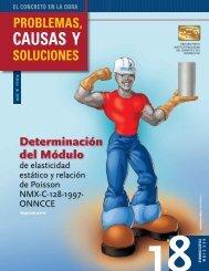Determinación del Módulo - Instituto Mexicano del Cemento y del ...
