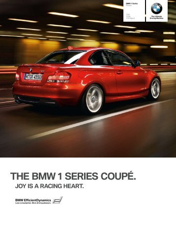 THE BMW 1 SERIES CoupÉ. - BMW New Zealand