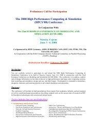 (HPCS'08) Conference